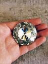 Пуговицы для диванов стеклянные «Алмазная Роза» 45 мм