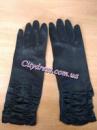 Перчатки с пальчиками черные А06