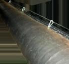 Труба вентиляционная для горных выработок диаметром 600мм, 800мм, 1000мм. Новая по 20 м.