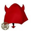 Шапка для бани «Чертенок», шапка для бани детская