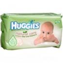 Детские влажные салфетки Huggies Natural Care 64шт.