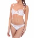 Комплект женского белья 206_145 бело-розовый