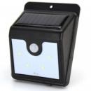 Светильник Ever Brite с датчиком движения и солнечной панелью 4 smd настенный уличный