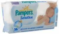 Влажные салфетки Pampers, Johnson's