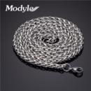 Цепочка Кубинское плетение нержавеющая сталь 60 см/4 мм