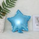 Фольгированный шар звезда голубая 18'' 45 см
