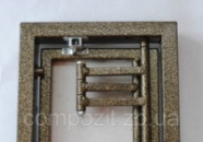 Люки-невидимки ревизионные под плитку со сдвижной дверцей, открывание присосками