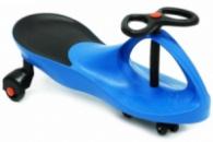 Машинка детская, «БИБИКАР» с полиуретановыми колесами, синяя