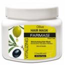 Восстанавливающая крем-маска для волос (с оливковым экстрактом) Farmasi Vitalizing Hair Care Cream Olive