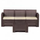 Набор мебели Alabama 3 коричневый