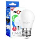 Светодиодная лампа Biom BT-564 G45 7W E27 4500К (нейтральный) матовая
