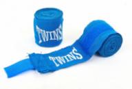 Бинты боксерские TWINS (3м) TW-5466B синий
