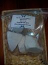 Мел природный Путивский комовый пищевой 0.5 кг.