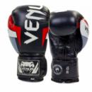 Перчатки боксерские кожаные VENUM Challenger черно-белые 10,12 oz