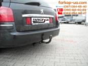 Тягово-сцепное устройство (фаркоп) Peugeot 407 (universal) (2004-2008)