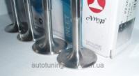 T-образные облегченные клапана (впуск, компл. 4 шт.) AMP, для авт. ЗАЗ и SENS (с двигателями МеМЗ-245, 301и 307)