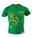 Футболка для мальчика любителя скейтов «Skatelab» зеленая хлопковая, бренд «Skatelab»