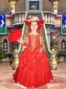 Дама - детский карнавальный костюм