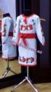 Украинское платье « Полевые цветы » 1004