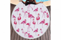Пляжный коврик Розовый Фламинго 150 см.