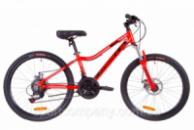 Велосипед 24« Formula ACID 1.0 AM 14G DD Al 2019 (красно-черный с синим)