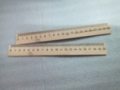 Линейка деревянная 20 см