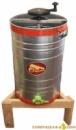 Медогонка необоротная на 3 рамки Рута, НТЦ малый бак из оцинкованого металла