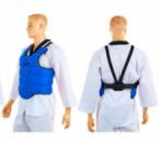 Защита груди(корпуса) детская ZELART Z-4222-B синяя