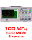 SDS1102DL Цифровой осциллограф,100 МГц