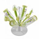 Сушка для бутылок Beaba Цветочек neon (911617)