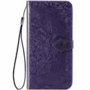 Кожаный чехол (книжка) Art Case с визитницей для Xiaomi Mi 9 SE Фиолетовый