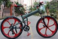 Элитный Велосипед HUMMER Green на литых дисках