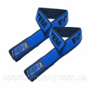 Кистевые ремни Power System PS-3401 Lifting Straps Duplex Black/Blue
