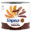 Эмаль Алкидная 266 Барва Красно-Коричневая 0,8 кг /полы/