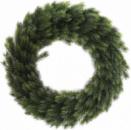 Новогодний декоративный венок «Хвойный» Ø50см, искусственная хвоя