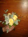 Букет свидетельницы «Александра», зимняя свадьба