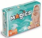 Подгузники Magics maxi 4 (7-14кг) 58шт