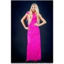 Платье вечернее МАКСИ гипюр желтое,малина,розовое,скл№1