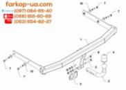 Тягово-сцепное устройство (фаркоп) Seat Ibiza (hatchback) (2008-2017)