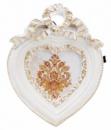 Фоторамка Animos «Белое Сердце» украшение-подвеска 9.7х12.5см