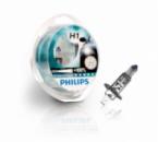 Галогенная лампа Philips H1 X-tremeVision +100% 12V 12258XVS2 2шт