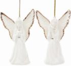 Подвесная фарфоровая статуэтка «Ангел» 10.5см