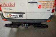 Тягово-сцепное устройство Volkswagen Crafter (фаркоп с 2 подножками) (2006-2016)