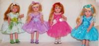 Кукла виниловая Аленка , на украинском, светлые волосы- 2202