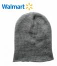 Шапки деми весна осень однотонные свтелосерые, бренд «Walmart» (США)