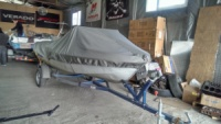 Продажа тента для лодки Прогресс2 , Прогресс 4. 3600 грн из полиэстера T500. Доставка по Украине