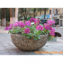 Вазоны парковые, цветочники садовые,цветники, вазы для цветов