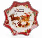 Тарелка фарфоровая «С рождеством!» Ø20.5см
