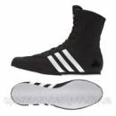 Боксерки Adidas Box Hog 2 (BA7928, черные с белой подошвой)