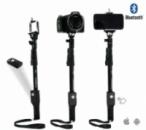 Держатель выдвижной для selfi Yunteng YT-1288 + Bluetooth кнопка (съемная)